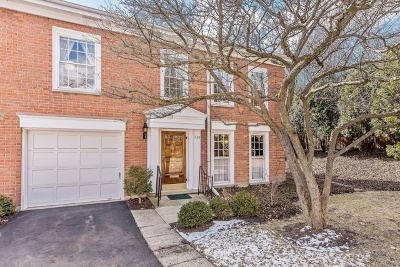 Northbrook Condo/Townhouse For Sale: 739 York Court