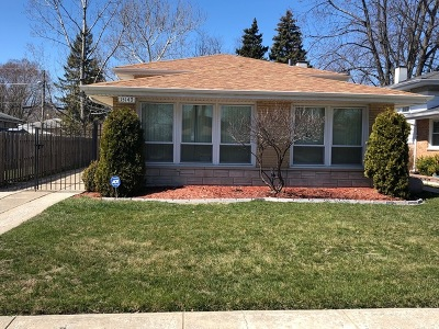 Dolton  Single Family Home For Sale: 15140 Chicago Road