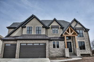 Plainfield Single Family Home Price Change: 13047 Skyline Drive