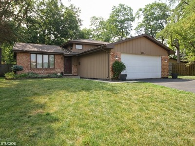 Steger Single Family Home Price Change: 3709 Morgan Court