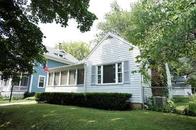 St. Charles Single Family Home Price Change: 1027 Ash Street
