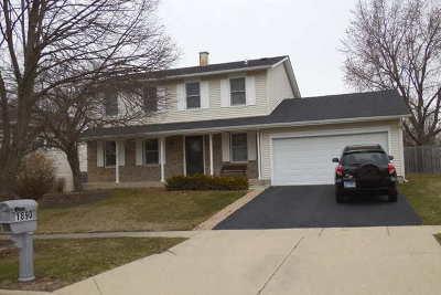 Hoffman Estates Single Family Home For Sale: 1890 Dogwood Drive