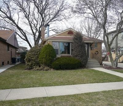 Evergreen Park  Single Family Home For Sale: 10026 South Spaulding Avenue