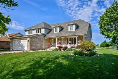 Carol Stream Single Family Home Price Change: 1216 Lakeside Lane