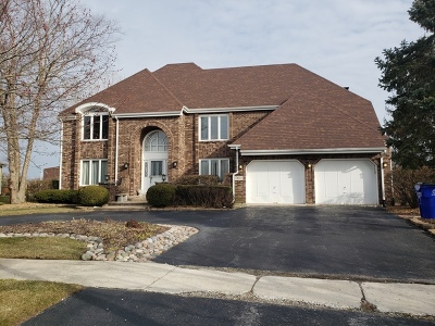 Palos Park Single Family Home Price Change: 13011 South Ridgewood Drive