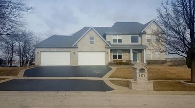 Crystal Lake Single Family Home Price Change: 1474 Alexandra Boulevard