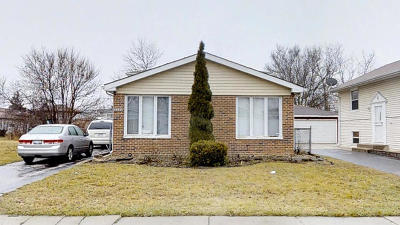 Markham Single Family Home For Sale: 2233 West 157th Place