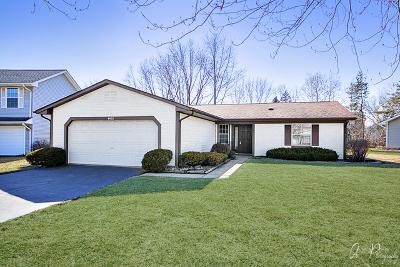 Hoffman Estates Single Family Home For Sale: 4480 Shorewood Court