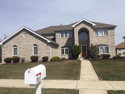 Orland Park Single Family Home Re-Activated: 10512 Rachel Lane