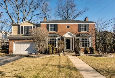 Wilmette Single Family Home For Sale: 1212 21st Street
