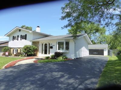 Hoffman Estates Single Family Home For Sale: 1475 Dennison Road