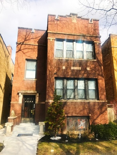 Multi Family Home For Sale: 5917 North Rockwell Street