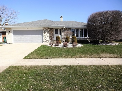 Orland Park Single Family Home For Sale: 7628 Sequoia Court
