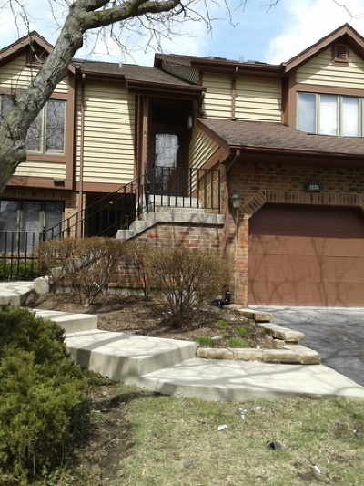 Downers Grove Condo/Townhouse For Sale: 1176 Mistwood Court #1176