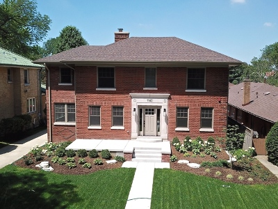 River Forest Single Family Home For Sale: 1140 Jackson Avenue