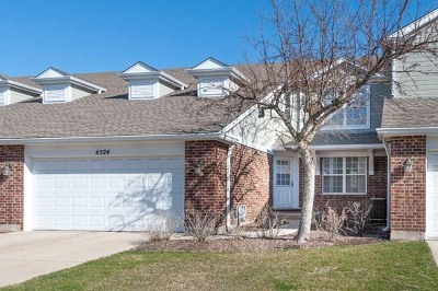 Northbrook Condo/Townhouse For Sale: 4524 Deer Trail Court
