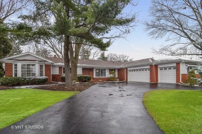 Schaumburg Single Family Home Contingent: 1431 Columbine Drive
