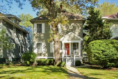 Wilmette Single Family Home Price Change: 1226 Lake Avenue