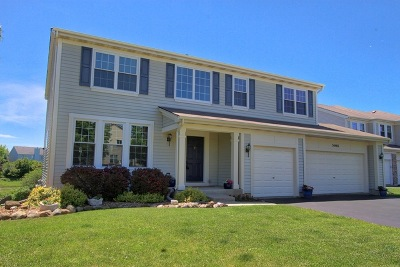 Grayslake Single Family Home For Sale: 34465 North Bobolink Trail