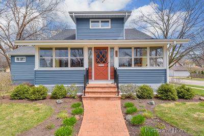Geneva Single Family Home Price Change: 201 North Lincoln Avenue