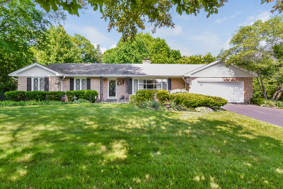 Libertyville Single Family Home Re-Activated: 725 Thomas Court