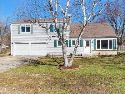 Carol Stream Single Family Home For Sale: 26w424 Geneva Road