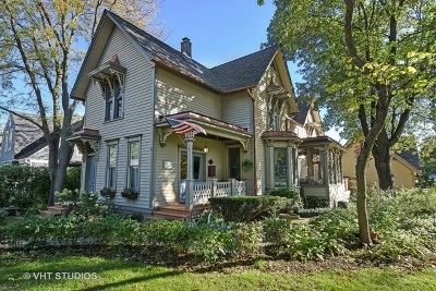 West Dundee Single Family Home Price Change: 317 South First Street