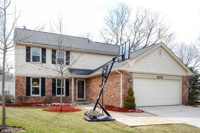 Buffalo Grove Single Family Home Contingent: 1434 Camden Court