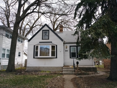 Evergreen Park  Single Family Home For Sale: 9551 South Albany Avenue
