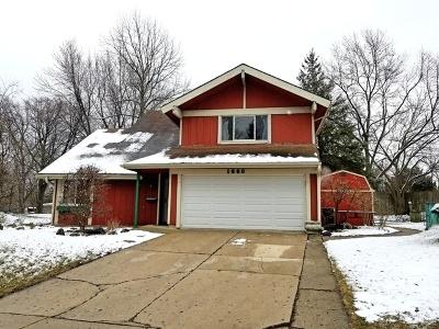 Hanover Park Single Family Home Contingent: 1660 Edison Circle