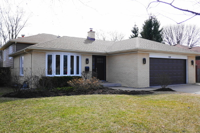 Glenview Single Family Home For Sale: 2247 Central Road