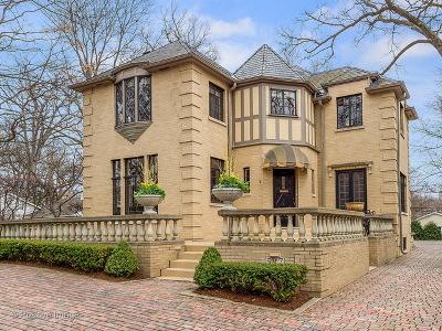 Glen Ellyn Single Family Home For Sale: 587 Hickory Road