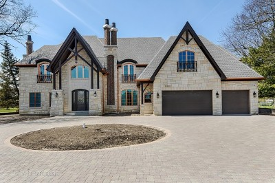 Hinsdale Single Family Home New: 10s122 Clarendon Hills Road