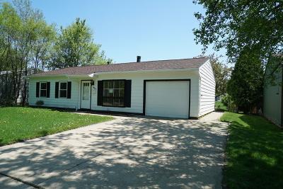 Streamwood Single Family Home For Sale: 821 Hillside Drive