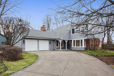 Northbrook Single Family Home Re-Activated: 3931 Brittany Road