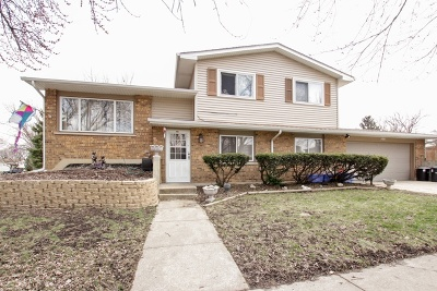 Bolingbrook Single Family Home Contingent: 308 Lyons Drive