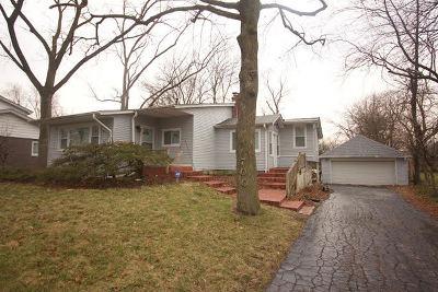 Flossmoor  Single Family Home For Sale: 700 Burns Avenue