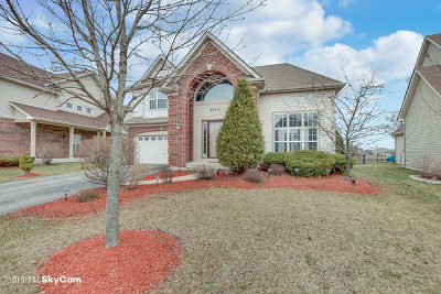 Plainfield Single Family Home For Sale: 26414 West Red Apple Road