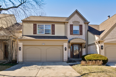 Buffalo Grove Condo/Townhouse Re-Activated: 712 Alsace Circle