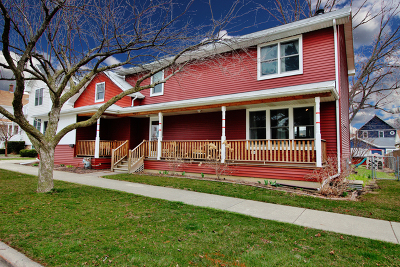 Arlington Heights Single Family Home Price Change: 209 South Dunton Avenue