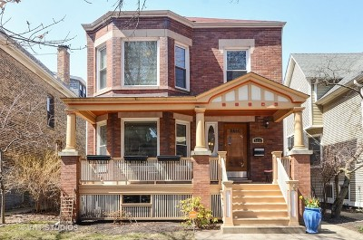 Single Family Home For Sale: 5214 North Wayne Avenue