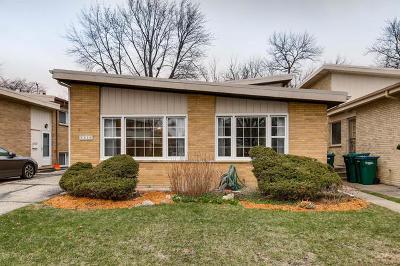 Wilmette Single Family Home For Sale: 2936 Greenleaf Avenue