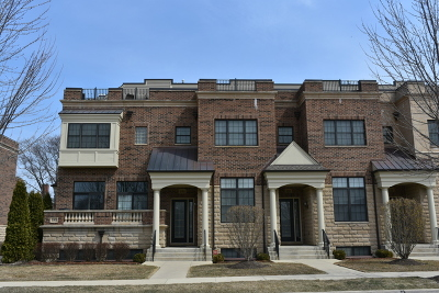Arlington Heights Condo/Townhouse For Sale: 183 North Hickory Avenue #8