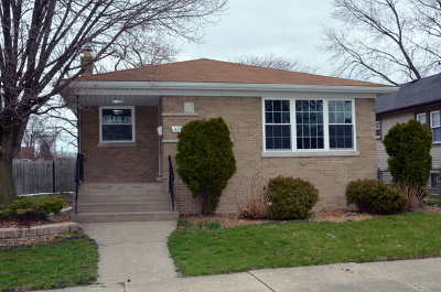 Calumet City  Single Family Home For Sale: 427 Price Avenue