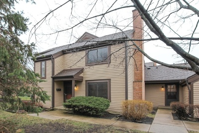 Buffalo Grove Condo/Townhouse For Sale: 1267 Farnsworth Lane