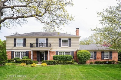 Northbrook Single Family Home For Sale: 235 Coachmaker Drive