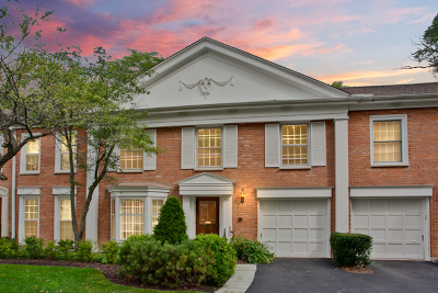 Northbrook Condo/Townhouse For Sale: 714 York Court