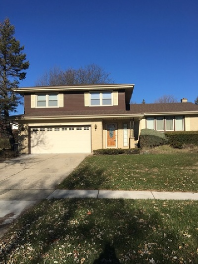 Schaumburg Single Family Home Contingent: 314 East Weathersfield Way