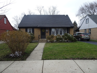 Alsip  Single Family Home For Sale: 11605 South Kenneth Avenue