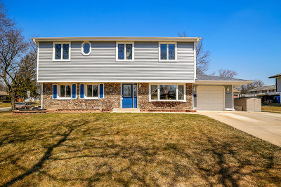 Schaumburg Single Family Home For Sale: 834 West Weathersfield Way